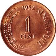 1 cent (sans lettre d'atelier, magnétique) – avers