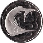 20 cents (espadon) -  revers
