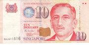 10 Dollars (BCCS) – avers