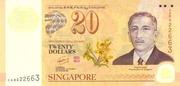 20 Dollars (40 ans d'interchangeabilité des monnaies) – avers