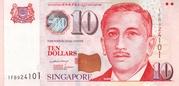 10 Dollars (MAS; papier) – avers
