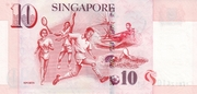 10 Dollars (MAS; papier) – revers