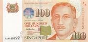 100 Dollars (BCCS) – avers