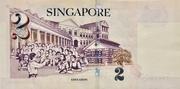 2 Dollars (MAS; papier) – revers