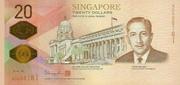20 Dollars (Bicentennial 1819 - 2019) – avers