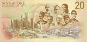 20 Dollars (Bicentennial 1819 - 2019) – revers