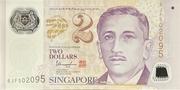 2 Dollars (MAS; polymère) – avers