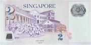 2 Dollars (MAS; polymère) – revers