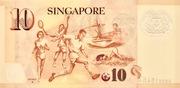 10 Dollars (MAS; polymère) – revers