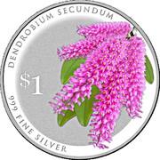 1 Dollar (Dendrobium Secundium) -  revers