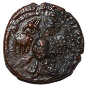 Dirham - 'Imad al-Din Zangi II (Zengid of Sinjar) – avers