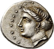 Drachm - Agreos – avers