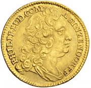 1 ducat Philip Ludwig – avers