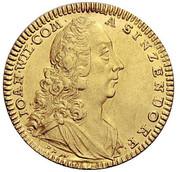 1 ducat Johan Wilhelm – avers