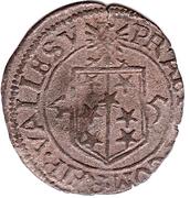 ½ batzen - Adrian III – revers