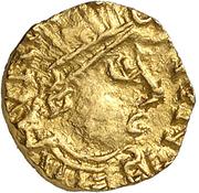 Tremissis - Mundericus (Sedunum, Merovingian Mint) – avers