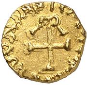Tremissis - Mundericus (Sedunum, Merovingian Mint) – revers
