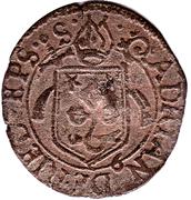 ½ batzen - Adrian III – avers