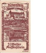 20 Heller (Sitzenberg) – avers