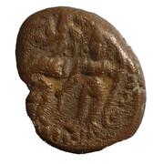 Kasu - Sasivarna Devar (1730 - 1750 AD) -  avers