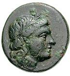 Bronze Æ20 (Skamandria) – avers