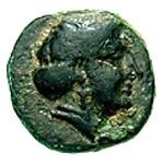 Bronze Æ9 (Skamandria) – avers