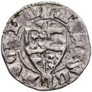 Denár - István Anjou (1350-1354) – avers