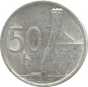 50 halierov -  revers