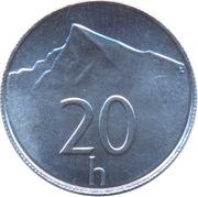 20 halierov -  revers