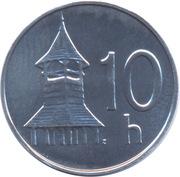 10 halierov -  revers