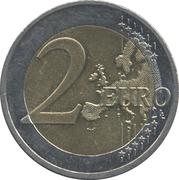 2 euros Révolution de velours -  revers