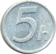 5 Halierov – revers
