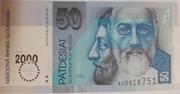 50 korún (an 2000) – avers