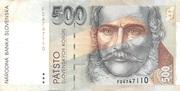 500 Korun 1993 – avers