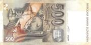 500 Korun 1993 – revers