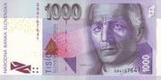 1000 korun – avers