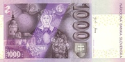 1000 korun – revers