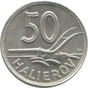 50  halierov – revers
