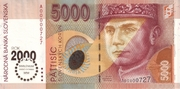 5000 Korún – avers