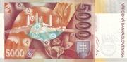 5000 Korún – revers