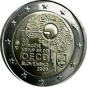 2 euros OCDE -  avers