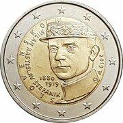 2 euros Milan Rastislav Štefánik -  avers