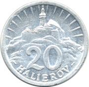 20 Halierov – revers