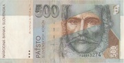 500 Korun – avers