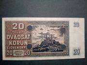 20 korún – avers