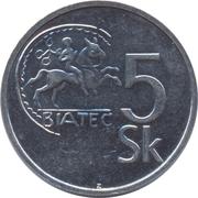 5 koruna -  revers