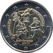 2 euros Universitas Istropolitana -  avers