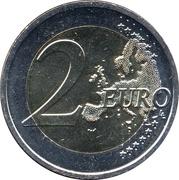 2 euros Universitas Istropolitana -  revers