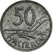 50 Halierov (Essai) – revers