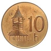 10 Halierov (Essai) – revers